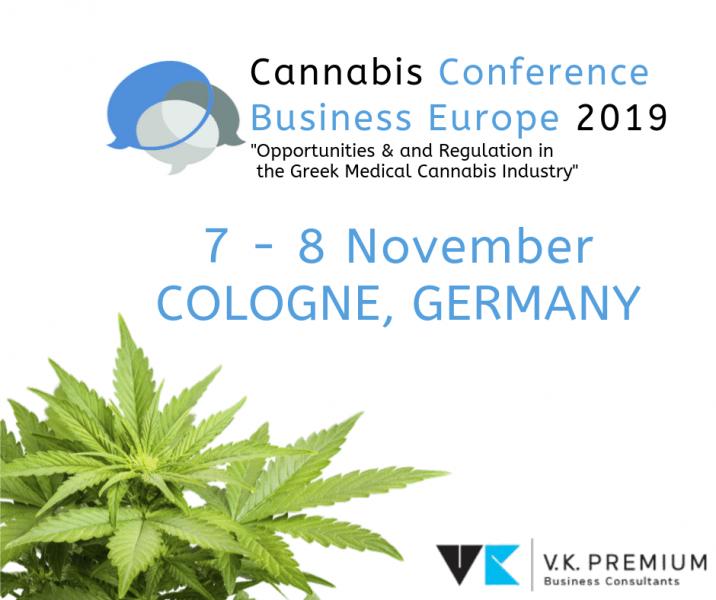 Ομιλία του CEO της VK PREMIUM στο συνέδριο Cannabis Business Europe 2019,