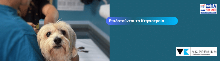 Επιδοτούνται τα Κτηνιατρεία & Κτηνιατρικά κέντρα - Εργαλειοθήκη Ανταγωνιστικότητας